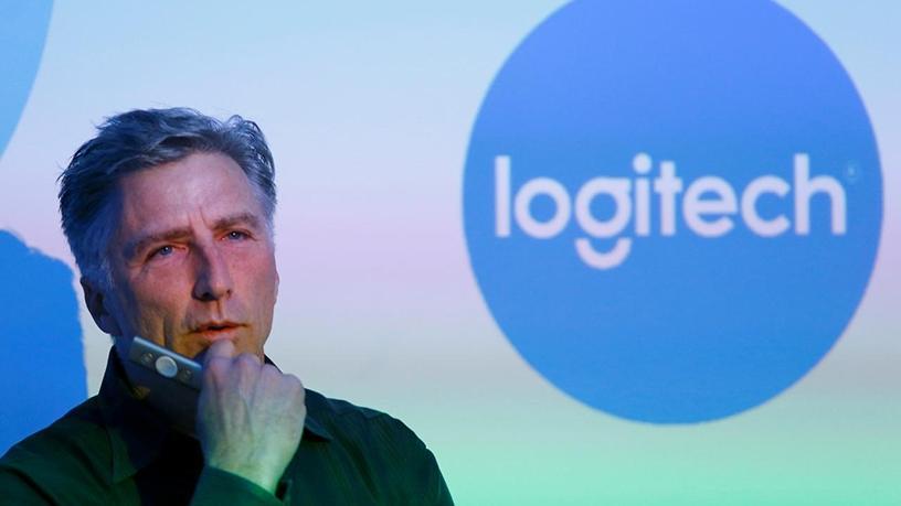 Logitech CEO Bracken Darrell.