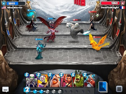 Castle Crush: Free Strategy Card Games v1.0.6 Mod apk 2019 with unlimited coins, money and gems. 5