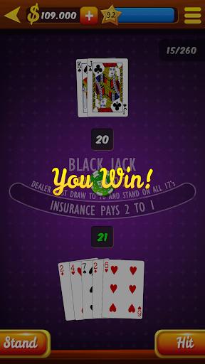 Blackjack 21 HD 1.0 Mod screenshots 4