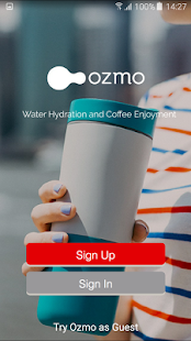 Ozmo Smart Bottle and Water App- screenshot thumbnail
