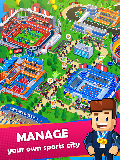 Sports City Tycoon - Idle Sports Games Simulator modavailable screenshots 9