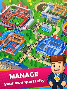 Sports City Tycoon MOD APK [Unlimited Money] Idle Sports Games Simulator 1.5.0 9