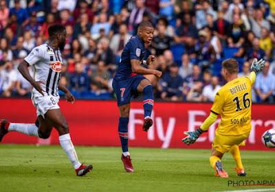 ? Doelman Butelle (ex-Club Brugge) gepasseerd door vedettentrio van PSG, vooral die van Mbappé is een echt pareltje