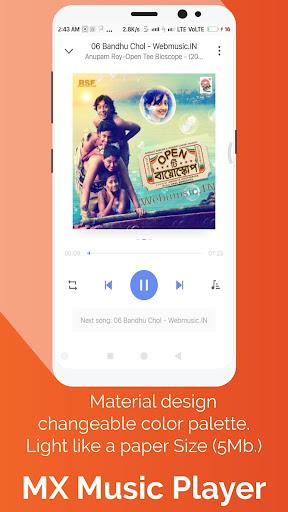 MX Music Player-Free Online & Offline Music Player 1.5.0.5 screenshots 1