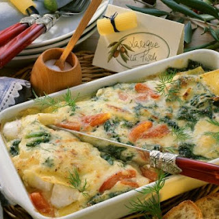 Creamy Fish and Pasta Bake