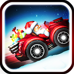 Christmas Snow Racing Icon