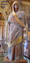 Photo: The Lady in Blue, 330 BC, based on Praxiteles ......... Dame in het Blauw, naar Praxiteles, 330 v.C.
