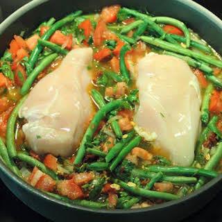 Chicken & String Bean Casserole.