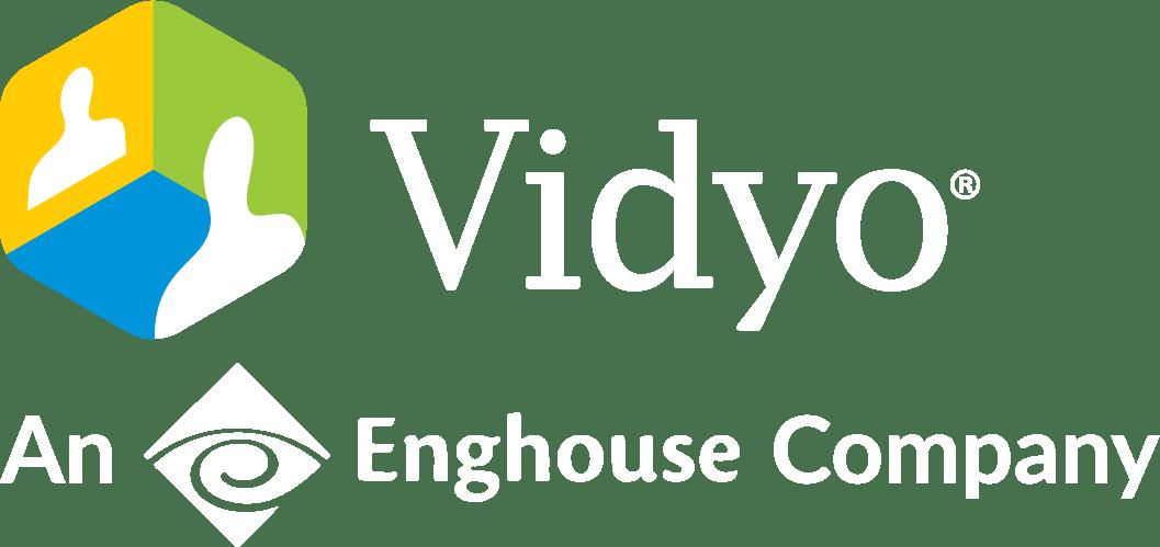 Vidyo enghouse company white png