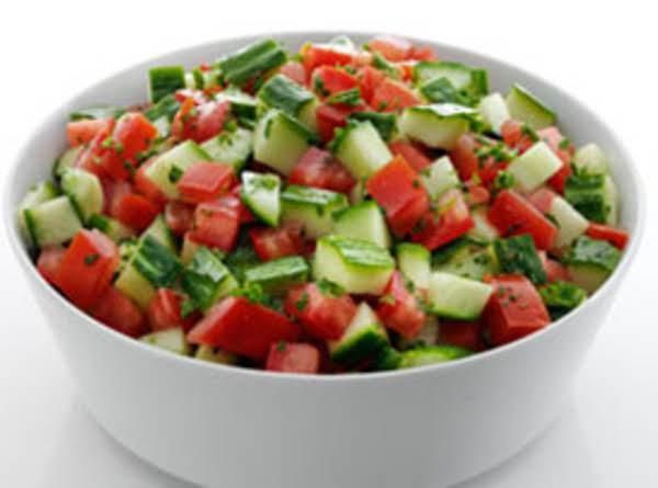 Spicy Tomato Cucumber Salad