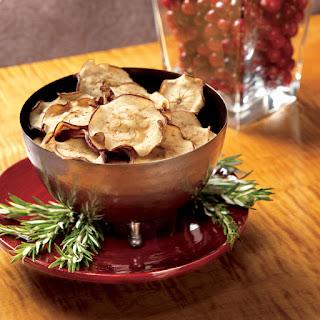 Apple-Cheddar Crisps
