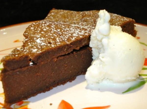 Flourless Chocolate Cake (gluten-free) Recipe