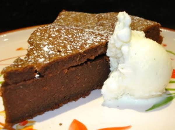 Flourless Chocolate Cake (gluten-free) Recipe
