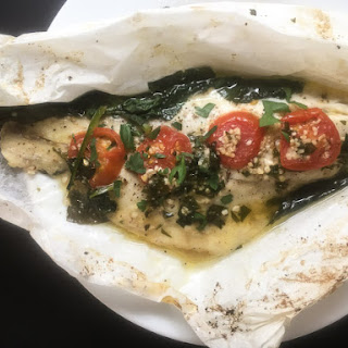 Louisiana Redfish en Papillote
