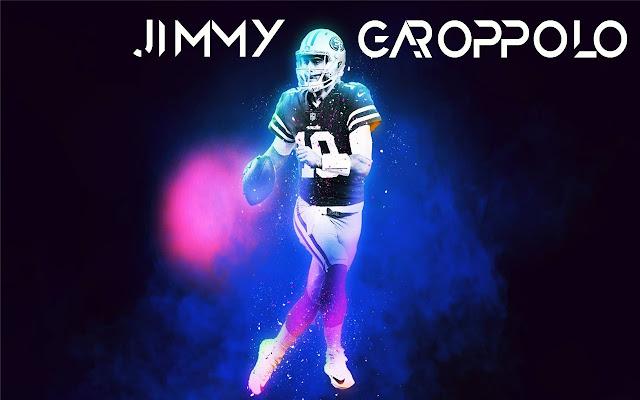 Jimmy Garoppolo Themes & New Tab