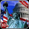 Free American Symbols 3D Next Launcher theme icon