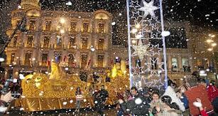 Imagen de archivo de una Cabalgata de Reyes en la capital.