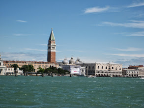 Photo: The main tourist area is around St. Marks and the Doge, or Duke's palace