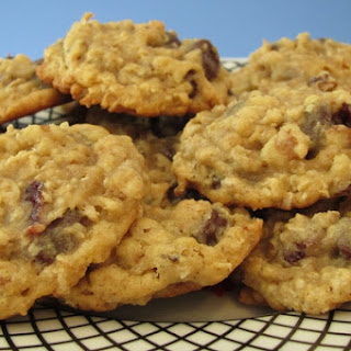 Chocolate Chip-Cherry-Walnut-Oatmeal Cookies