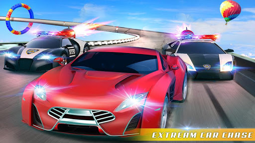 Police Car Chase GT Racing Stunt: Ramp Car Games android2mod screenshots 6
