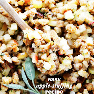 Easy Apple Stuffing