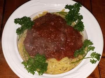 Nonnas Anchovy Spaghetti Sauce
