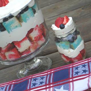 Jello Cheesecake Trifle.