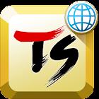 TSキーボード[日本語&顔文字入力][25ヶ国の多言語] icon