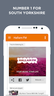 Radio Hallam- screenshot thumbnail