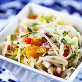 Jicama Salad.