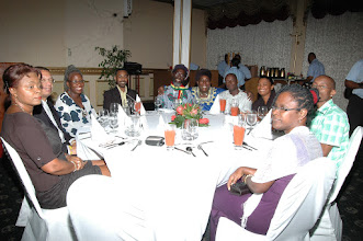 Photo: Participants at Dinner - Pegasus Hotel