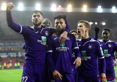 Anderlecht wint op het veld van Zulte Waregem