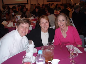 Photo: Sandra Marbut, Jacqueline Hansen, Cindy Bailey, LA84 Nat'l Girls & Women in Sports luncheon.