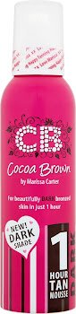 Cocoa Brown 1 Hour Tan Dark Mousse - 150ml