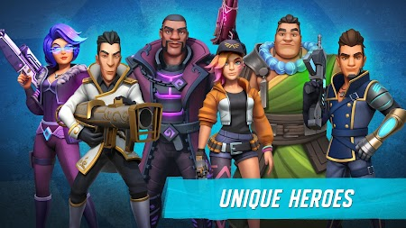 Heroes of Warland - Online 3v3 PvP Action APK screenshot thumbnail 2