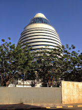 """Photo: """"Gaddafi's Egg"""" , Corinthia Hotel Khartoum (The hotel was funded by the Libyan government)"""