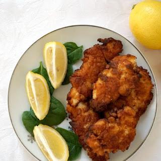 Fried Buttermilk Chicken Tenders.