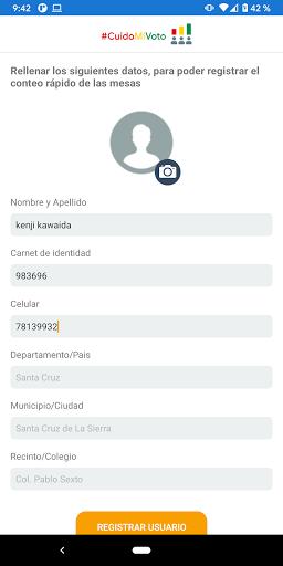 CuidoMiVoto screenshot 2