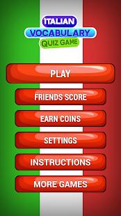 Italská Slovní Zásoba Kvíz Hra - náhled