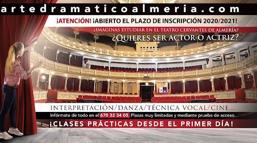 Estudiar arte dramático y cine en pleno centro de Almería