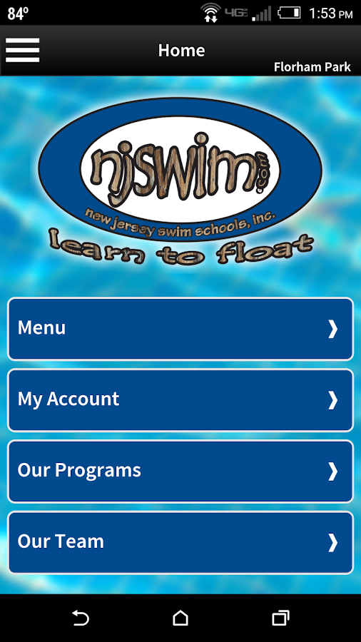 Njswim- screenshot