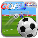 Ball To Goal Free Icon