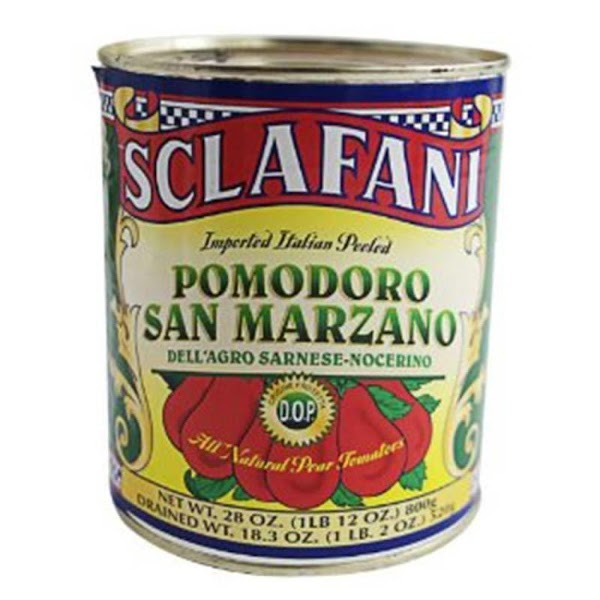 Sciafani San Marzano It has only one ingredient… tomato, without even the typical citric acid...
