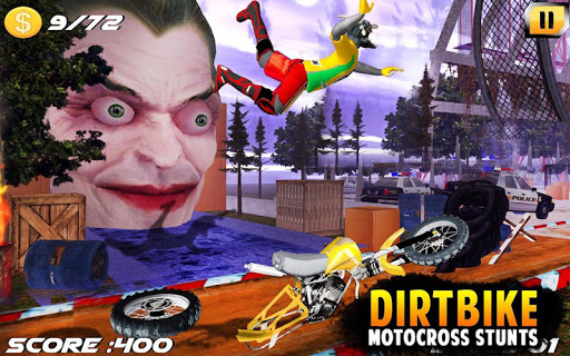 Dirt Bike Cop Race Free Flip Motocross Racing Game 12 de.gamequotes.net 2