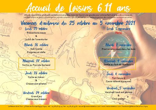 Programme automne 6-11 ans