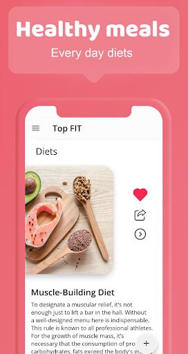 Female fitness screenshot 5