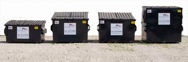 Photo: trash disposal columbus