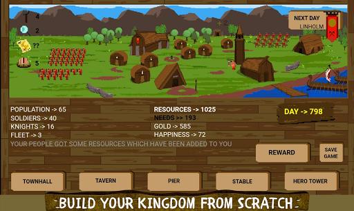 Télécharger The Last Vikings Kingdom: City Builder apk mod screenshots 2