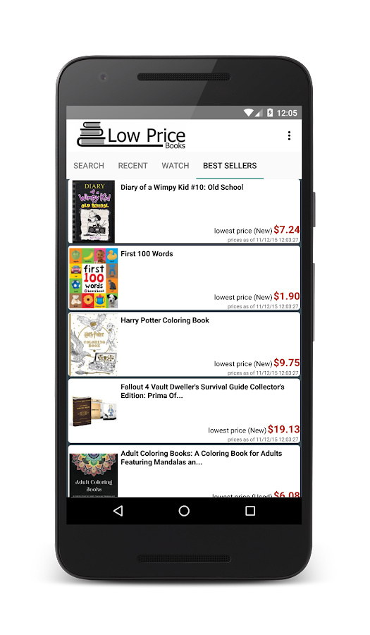 Low Price Books & Textbooks- screenshot