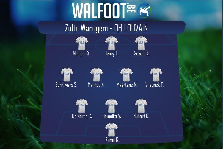 OH Louvain (Zulte Waregem - OH Louvain)
